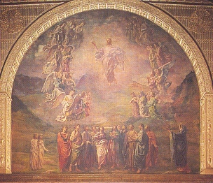 The Ascension of Our Lord, by John La Farge