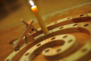 Lent pic brown candle
