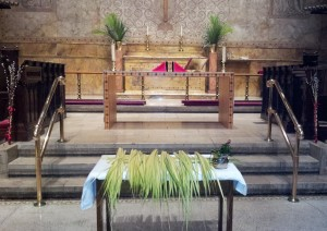 Table Palm Sunday