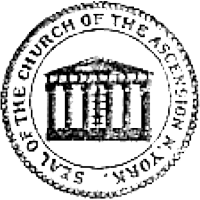 Seal of the Church of the Ascension N. York.
