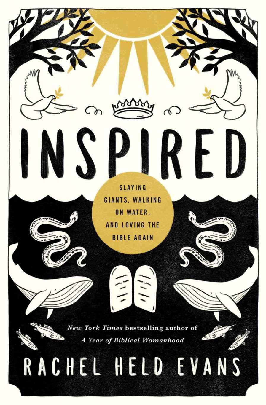 cover: Inspired, by Rachel Held Evans